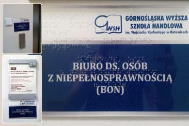 Projekt przygotowany na zlecenie Górnośląskiej Szkoły Handlowej w Katowicach